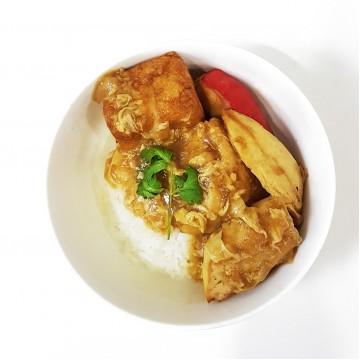 Yong Tau Foo Rice