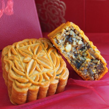 Honey Assorted Nuts Traditional Mooncake