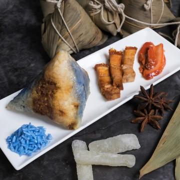 Blue Pea Char Siew Dumpling