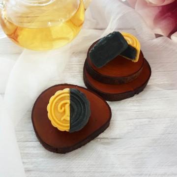 Black Sesame Snowskin Mooncake